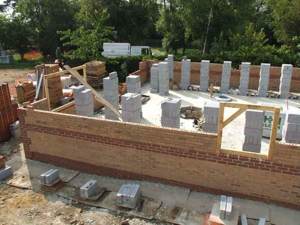 Work underway on a new 2 bedroom bungalow