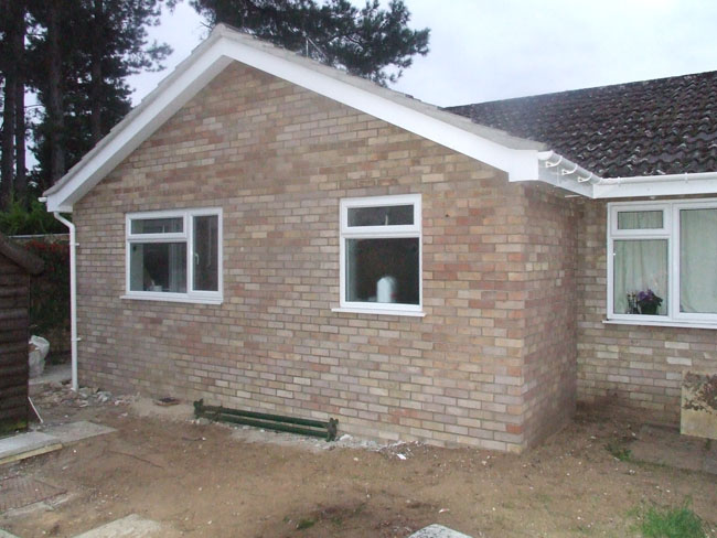 Rear extension to existing kitchen